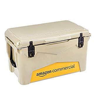 AmazonCommercial Rotomolded Cooler, 45 Quart, Tan (B07N7T5VY1)   Amazon price tracker / tracking, Amazon price history charts, Amazon price watches, Amazon price drop alerts