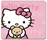 SMAIGE Computer Gaming Mouse Pad / Mat with Smooth Silk Surface, Non-Slip Rubber Base Mousepad (Hello Kitty)