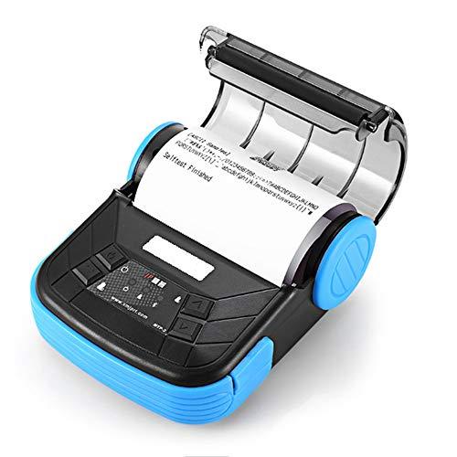 FAY Inalámbrica Bluetooth 4.0 térmica Impresora de Recibos, 80mm Impresora de Etiquetas portátil móvil, USB Recargable ESC/POS Impresora, para Restaurante al por Menor