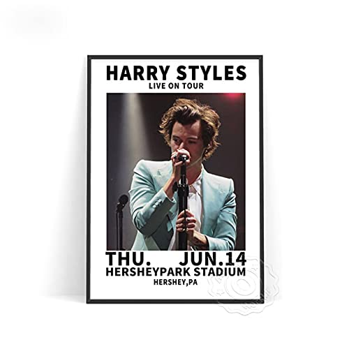 lubenwei Music Star Harry Styles Poster Vocal Concert Singer Posters World Tour Live Picture Wall Stickers Bedroom Wall Decor (AU-1360) 50x70cm No frame