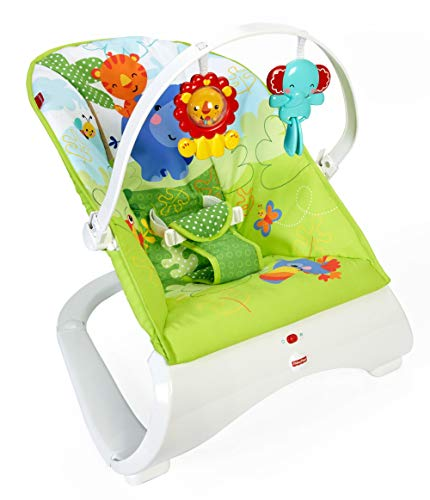 Fisher Baby Gear - Hamaca confort y diversión, color verde...