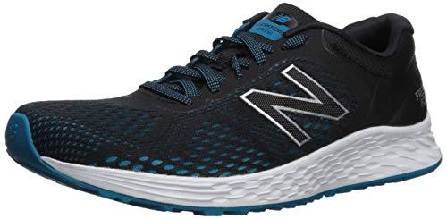 New Balance Men's Arishi V2 Fresh Foam Running Shoe, Black/deep Ozone Blue, 10.5 XXW US
