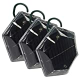 ISOTRONIC® Ultrasonic Solar Bird Repeller device, portable Bird Deterrent, Pigeon Scarer - Pack of 3 Pcs.