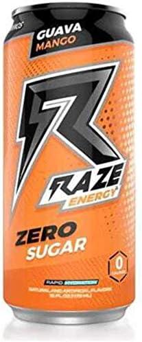 All items free shipping Rapid rise Raze Zero Sugar Energy Drink Caffeine 300mg Calories Sug