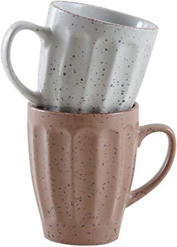 Mug vintage en grès (Lot de 2)
