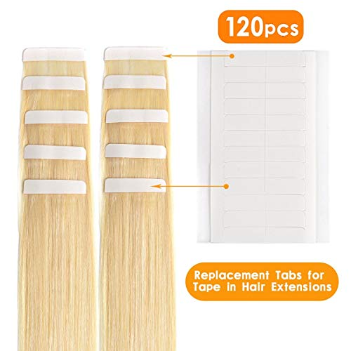 Aviva Double Sided Tape Tabs for Replacement Hair Extension