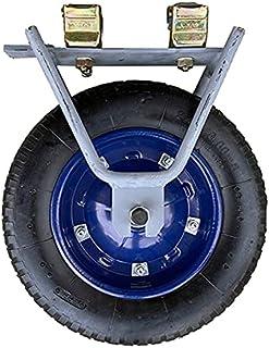 Aトラック 台車 パーツ タイヤ径Φ360 2個組 お手持ちの足場部材などを使って台車が作れます AB両タイプの足場部材使用可能 足場部材運搬用台車パーツ 足場 運搬用 K-MAX 横濱ゼームス商会 横浜ゼームス