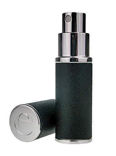 Essential atomiseur Co Saffiano 8ml en cuir Parfum Fragrance Vaporisateur avec boîte-cadeau Sac à main/atomiseur Voyage, Rechargeable, Avec Entonnoir
