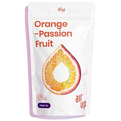 air up® Pods 3er Pack Orange-Maracuja-Geschmack – Für aromatisiertes Wasser – 0 Zucker 0 Kalorien – Nur für air up® Trinkflasche – Ausreichend für 15 l Leitungswasser oder Sprudelwasser