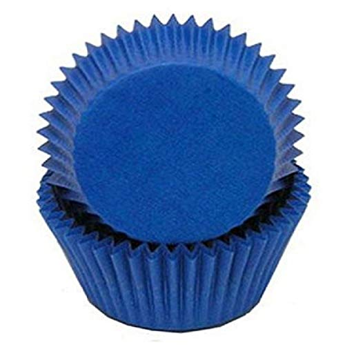 mini baking cups blue - 5