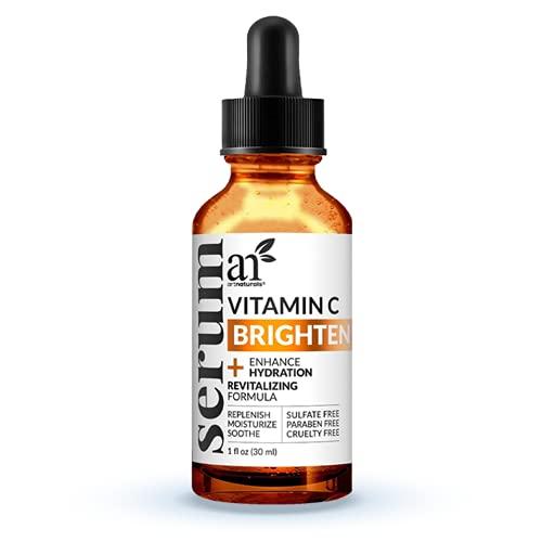 artnaturals Anti-Aging Vitamin C Serum - (1 Fl Oz / 30ml) - with Hyaluronic Acid and Vit E - Wrinkle...