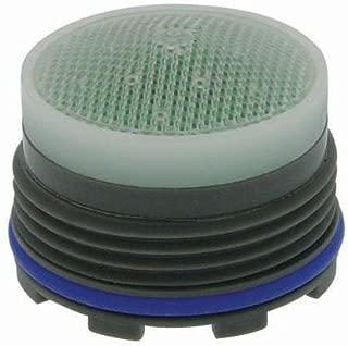 Neoperl 13 0240 5 Economy Flow PCA Cache Perlator HC Aerator, Tiny Junior Size, 1.5 GPM, Green/Clear Dome, Honeycomb Screen, Aerated Stream, M18.5 x 1 Threads, Plastic, 0.561