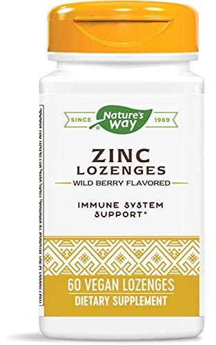 Zinc/Echinacea&Vitamin C Lozenges-Berry Flavor Nature's Way 60 Lozenge by Nature's Way