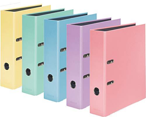 Color-Ordner 8 cm breit DIN A4 (5...