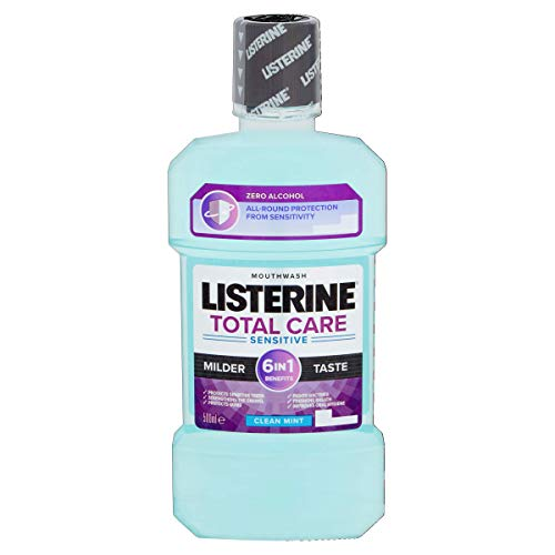 Listerine 500 ml Total Care Sensitive Clean Mint Mouthwash