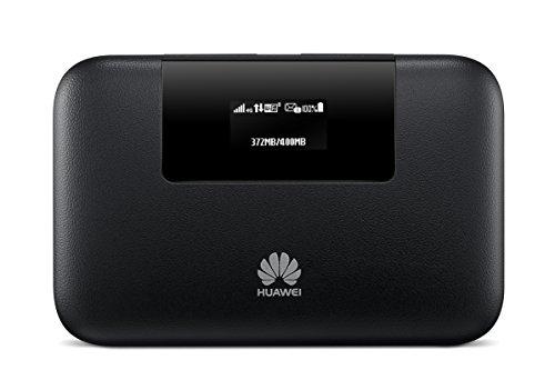 Huawei entsperrt e57704G/LTE Tragbare Wireless Mobile Router–Schwarz schwarz