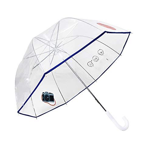 Paraguas transparente de moda