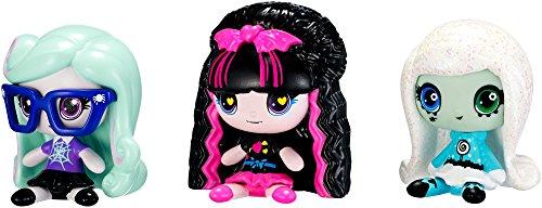 Monster High MINIS 3 Pack - Twyla Draculaura Frankie Stein Season 2 Figures