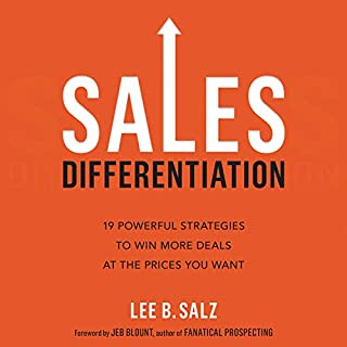 Page de couverture de Sales Differentiation