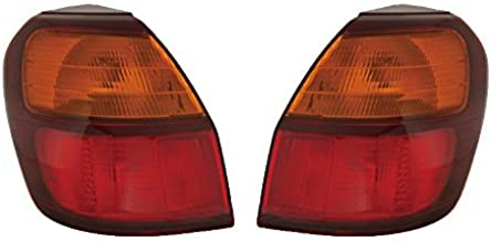For Subaru Outback Wagon 00 01 02 03 04 Tail Light Lamp Pair 84201Ae16A 84201Ae17A