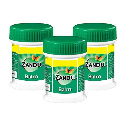 Zandu Balm 25 ml, pack of 3