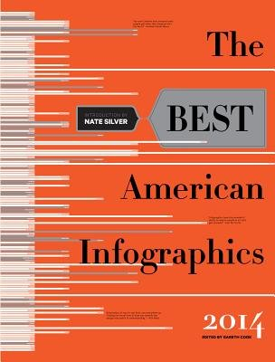 The Best American Infographics[BEST AMER INFOGRAPHICS 2014/E][Paperback]
