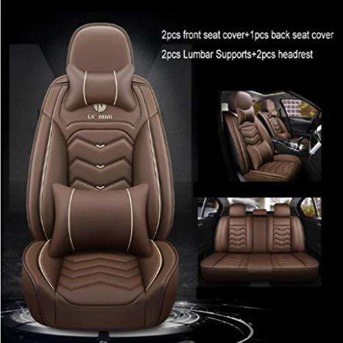 Coprisedile per Auto per Honda CR-V 2008 CRV 2007-2011 2013 Element Fit HR-V CRV 2016 Insight Jazz Pilot-Coffee Luxury