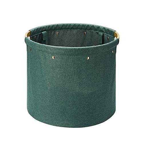 ASYKFJ Caja de almacenamiento de tela sucia cesta de almacenamiento plegable grande cesta de lavandería baño sucio marco de ropa cesta de almacenamiento