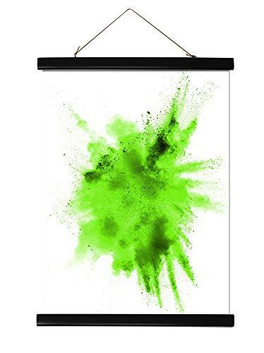 Close Up Magnetische Posterleisten - Kunststoff schwarz (100 cm) Poster-Aufhänger, Posterschienen, Plakatleisten (39 inch)