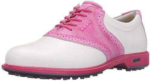 Ecco Damen WOMENS CLAS. GOLF HYBRID Golfschuhe, Mehrfarbig (White/Candy 57676), 40 EU