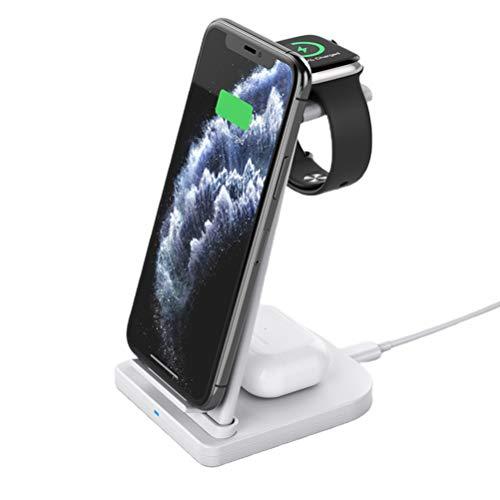 Estación de carga inalámbrica 3 en 1 para iPhone
