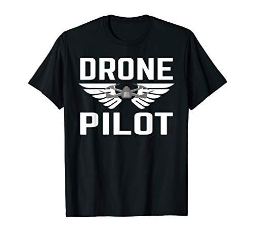 Drohnen Drohne Pilot Quadrocopter Drone Fliegen Geschenk T-Shirt