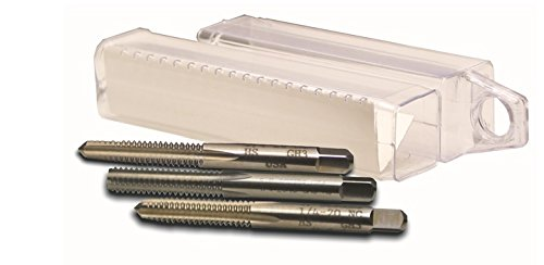 """Viking Drill and Tool 55194 Type 26 Bright Polished General Purpose Tap Set, 1-1/2-12"""""""
