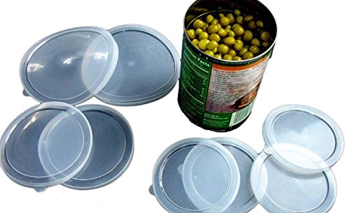 Check Out This Al-De-Chef Pieces Plastic Cover for Pet Food Can Lid, Large, Clear