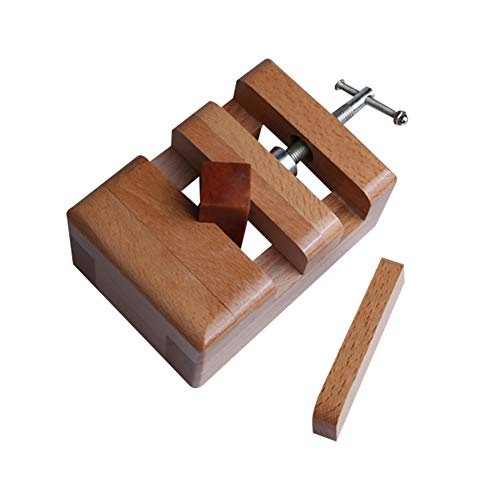 Echaprey Adjustable Carving Clamp for Stone,Wood Carving Tools for Chinese Traditional Seal Stone SND...