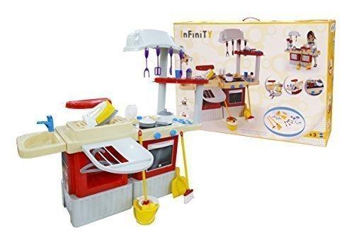 Polesie 42309 Infinity Keuken met wasmand – koken en spelen speelgoed