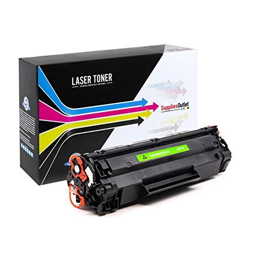 SuppliesOutlet Compatible Toner Cartridge Replacement for Canon 137 / 9435B001 (Black,1 Pack)