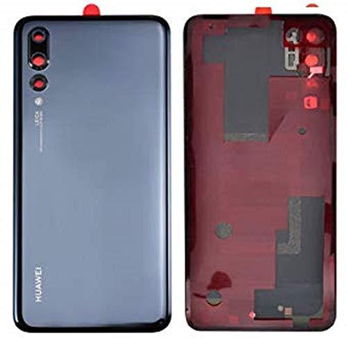 Tapa de la batería, parte posterior, cubierta de la batería para Huawei P20 Pro Negro / lámina adhesiva/ herramienta