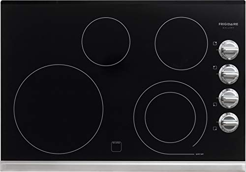 Frigidaire Gallery 30' Electric Smoothtop Cooktop with Stainless Steel FGEC3045PS