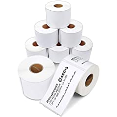 """2 5/16"""" X 4"""" Direct Thermal Labels - Non-OEM Replacement for DYMO 30256 Shipping Labels - Compatible with Labelwriter Printers - 8 Rolls / Case & 300 Labels / Roll. Quality - Our Priority: Smudge-Free & Fade-Resistant labels. Print darker & sharper p..."""