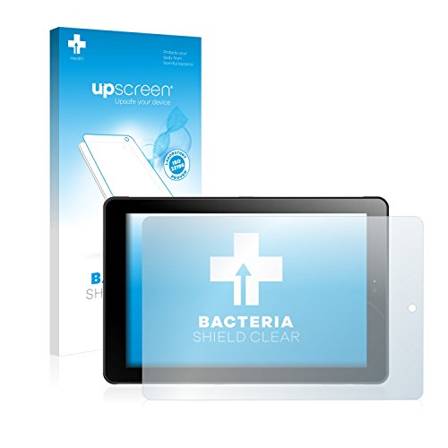 upscreen Antibakterielle Schutzfolie kompatibel mit Odys Windesk 9 Plus 3G V2 klare Bildschirmschutz-Folie