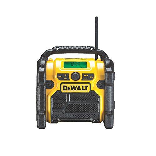 DeWALT Digital Radio Akku-Radio Baustellenradio FM/AM DCR020-QW 10.8-18V