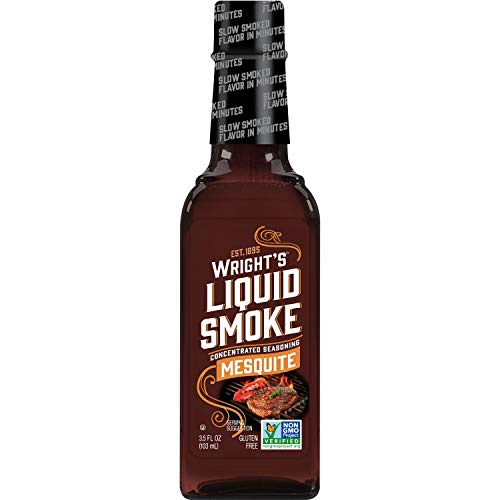 Wrights Seasoning Mesquite Liquid Smoke, 3.5 oz