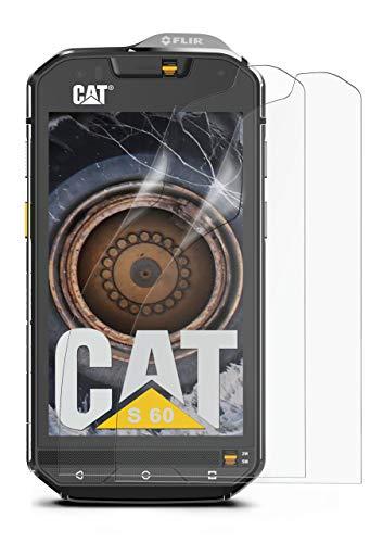 moex Protector de pantalla mate compatible con CAT S60 – lámina antirreflectante, protector de pantalla mate – 3 unidades