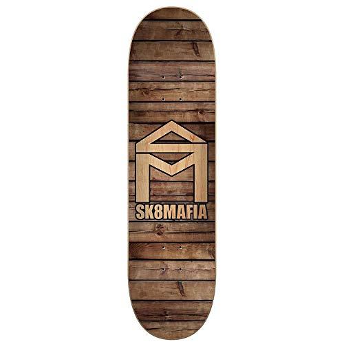 SK8 Mafia Skateboards House Logo Tavola da skateboard in legno, 21 cm