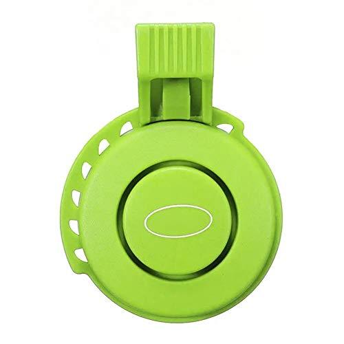 Tbaobei-Baby Fahrradglocke Sport Radfahren TWOOC Fahrrad-120dB elektrische Klingel USB-Gebühr Fahrradlenker 3 Modus Sounds Ring Bell Fahrradklingel (Color : Green, Size : One Size)