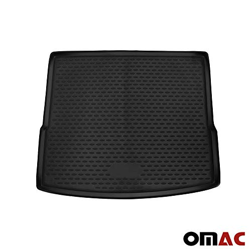 OMAC GmbH Kofferraumwanne Antirutschmatte für X1 F48 2014-2020 Gummi Allwetter schwarz fahrzeugspezifisch