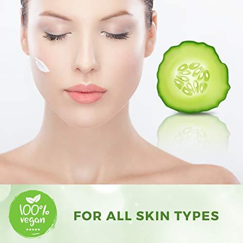 41aALWou +L - Cucumber Elixir Anti aging Face Cream With Hyaluronic Acid, Natural & Organic Facial Moisturizer Face Lotion Anti aging Face Moisturizer For Women & Men Best Face & Skin Care