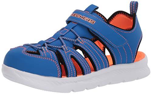 Skechers C-Flex Sandal 2.0 Heat Blast, Sandalias para Pescador, Blbk, 35 EU