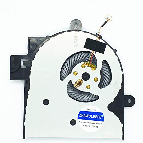 Lee_store Replacement New CPU Cooling Fan for HP Envy M6-W M6-W000 M6-W010DX M6-W011DX M6-W014DX M6-W015DX M6-W100 M6-W101DX M6-W102DX M6-W103DX M6-W105DX Series 807524-001 DFS551205WQ0T FGCT Fan